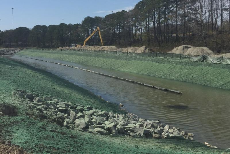 tidal channel relocation