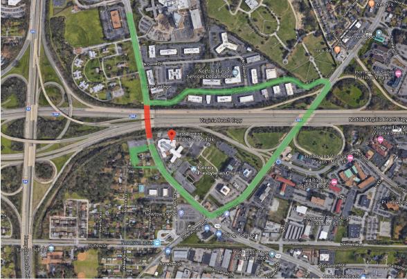 kempsville road closure 2019.01.27