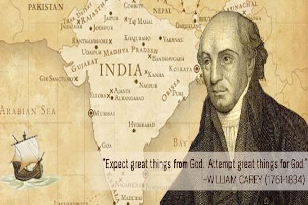 MISSIONAL TENACITY – 3 LESSONS ON REACHING THOSE AROUND US FROM THE LIFE OF WILLIAM CAREY (By TimWhitney)