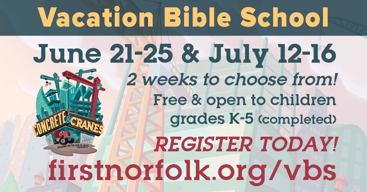 5 Reasons to Say YES toVBS!